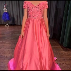 Size 4 Sherri Hill Pageant Gown For Sale ... $800